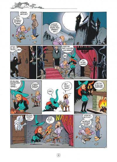 Page 9 Mélusine tome 4 histoires à lire au coin du feu