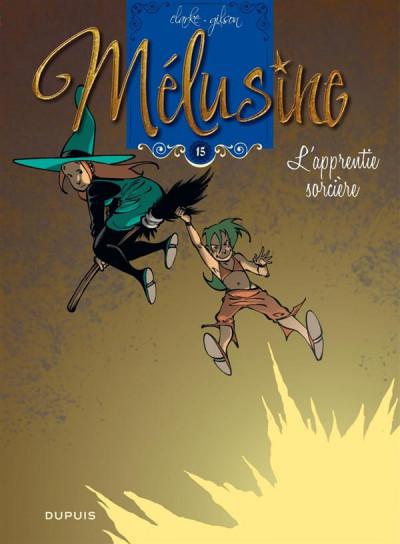 Couverture Mélusine T.15 - l'apprentie sorcière