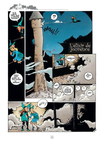 Page 3 Mélusine tome 19 - l'élixir de jouvence