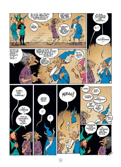 Page 6 Mélusine tome 19 - l'élixir de jouvence