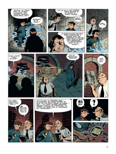 Page 5 Spirou et Fantasio vu par... tome 2 - les marais du temps