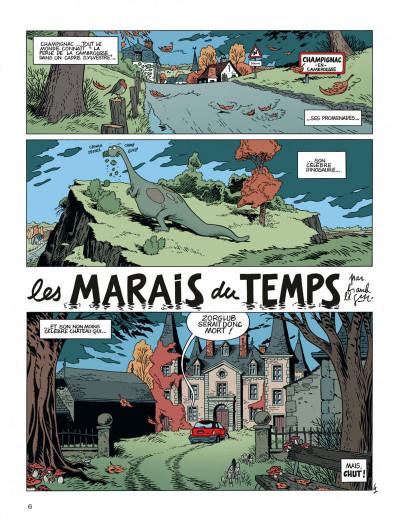 Page 6 Spirou et Fantasio vu par... tome 2 - les marais du temps