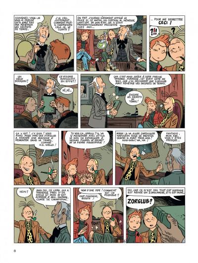 Page 8 Spirou et Fantasio vu par... tome 2 - les marais du temps