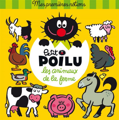 image de Petit Poilu l'imagier des animaux de la ferme