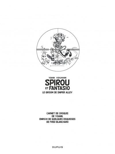 Page 3 Spirou et Fantasio tirage de luxe tome 54 - Le groom de Sniper Alley