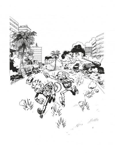 Page 5 Spirou et Fantasio tirage de luxe tome 54 - Le groom de Sniper Alley