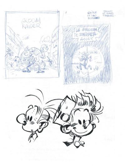 Page 6 Spirou et Fantasio tirage de luxe tome 54 - Le groom de Sniper Alley