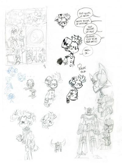 Page 8 Spirou et Fantasio tirage de luxe tome 54 - Le groom de Sniper Alley