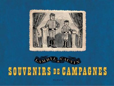 Couverture Portfolio de Willy Lambil sur les tuniques bleues