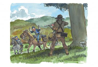 Page 2 Portfolio de Willy Lambil sur les tuniques bleues