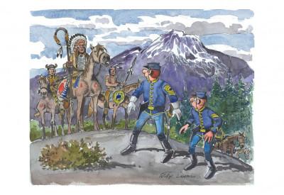Page 7 Portfolio de Willy Lambil sur les tuniques bleues