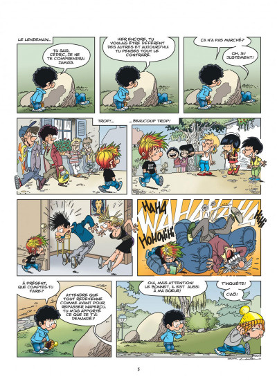 Page 5 Cédric tome 29 - un look d'enfer