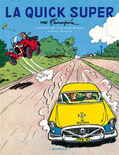 Couverture Spirou et Fantasio - la Quick Super