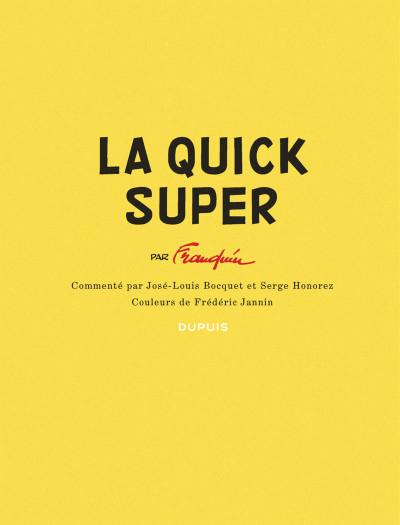 Page 3 Spirou et Fantasio - la Quick Super