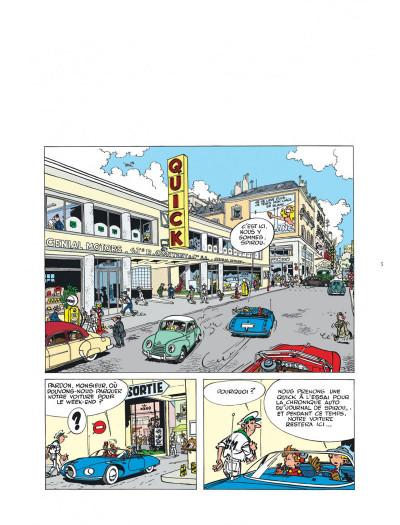 Page 5 Spirou et Fantasio - la Quick Super