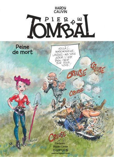 Page 1 Pierre Tombal tome 31 - peines de mort