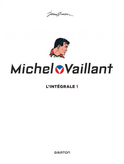 Page 1 Michel Vaillant - intégrale tome 1
