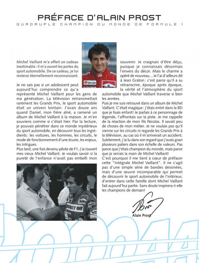 Page 3 Michel Vaillant - intégrale tome 1