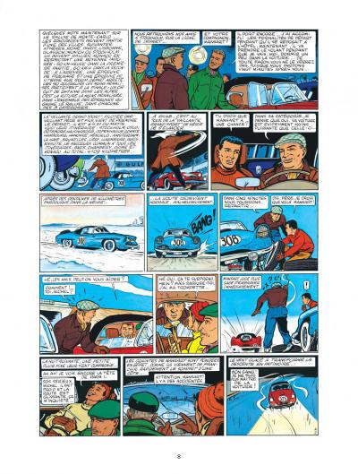 Page 8 Michel Vaillant - intégrale tome 1