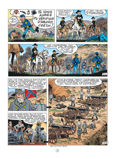 Page 5 Les tuniques bleues tome 59