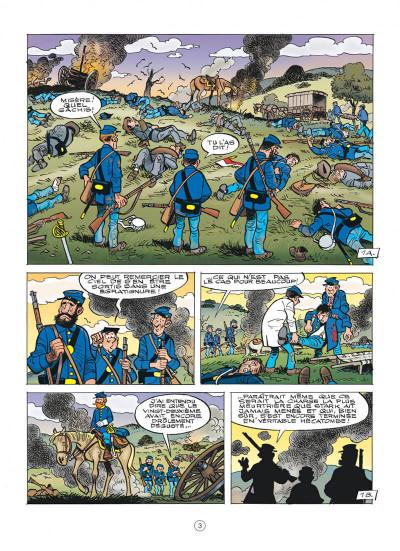 Page 3 Les tuniques bleues tome 60
