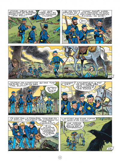 Page 4 Les tuniques bleues tome 60