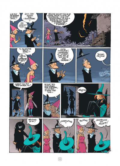 Page 4 Mélusine tome 23
