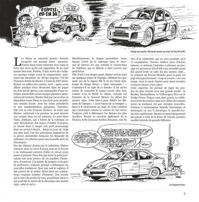 Page 5 les chroniques de Starter tome 4 - 60 chroniques insolites