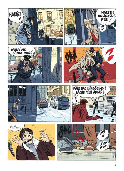 Page 5 jérôme k. jérôme bloche tome 7 - un oiseau pour le chat (édition 2014)