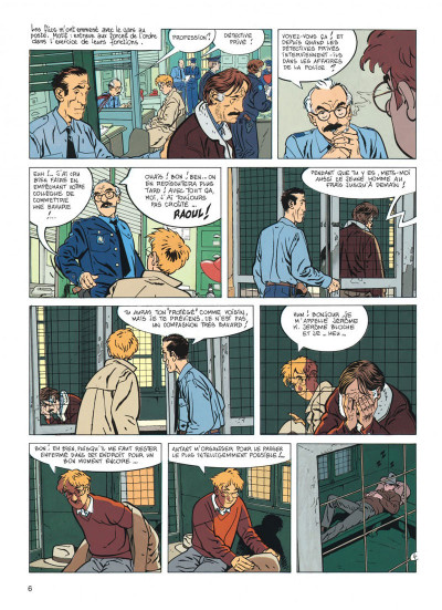 Page 6 jérôme k. jérôme bloche tome 7 - un oiseau pour le chat (édition 2014)