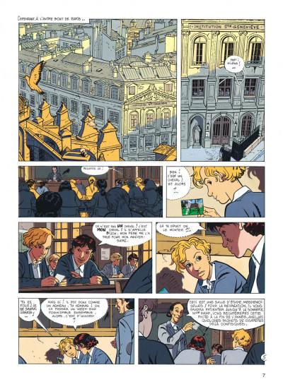 Page 7 jérôme k. jérôme bloche tome 7 - un oiseau pour le chat (édition 2014)