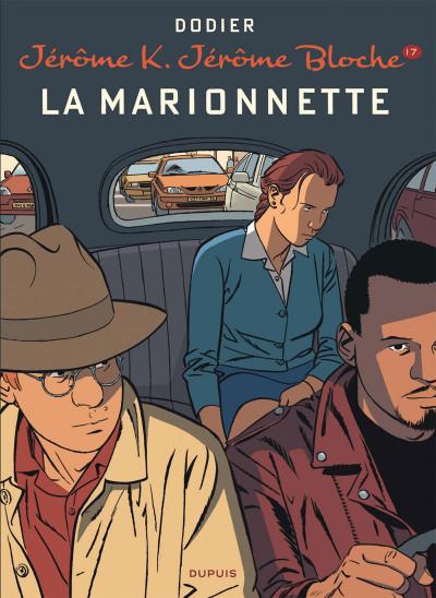 Couverture Jérôme K. Jérôme Bloche tome 17 - la marionnette