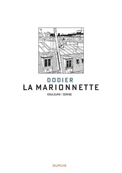 Page 1 Jérôme K. Jérôme Bloche tome 17 - la marionnette