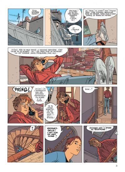 Page 3 Jérôme K. Jérôme Bloche tome 17 - la marionnette