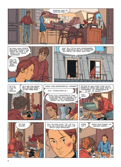Page 4 Jérôme K. Jérôme Bloche tome 17 - la marionnette