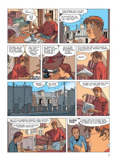 Page 5 Jérôme K. Jérôme Bloche tome 17 - la marionnette
