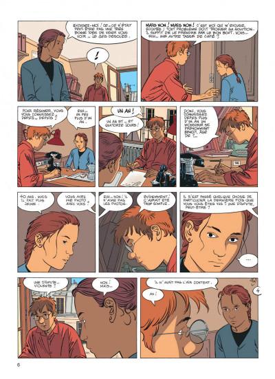Page 6 Jérôme K. Jérôme Bloche tome 17 - la marionnette