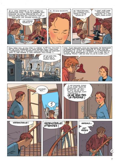 Page 7 Jérôme K. Jérôme Bloche tome 17 - la marionnette