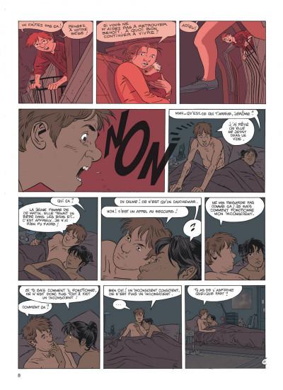 Page 8 Jérôme K. Jérôme Bloche tome 17 - la marionnette