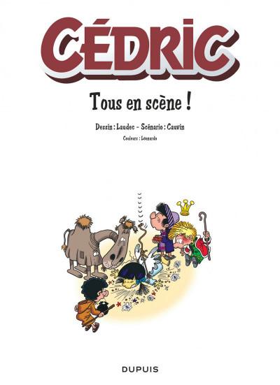 Page 1 Cédric best of tome 7 - tous en scène !