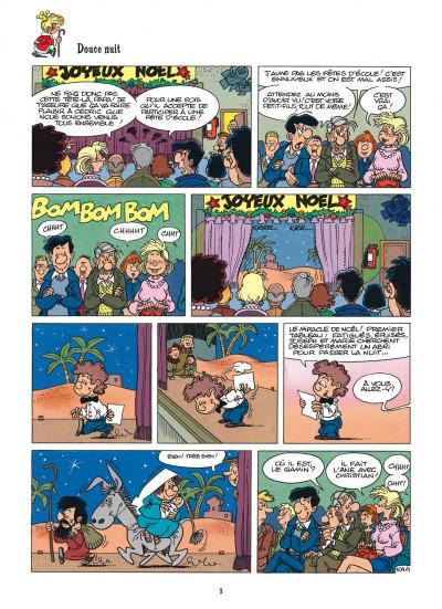 Page 3 Cédric best of tome 7 - tous en scène !