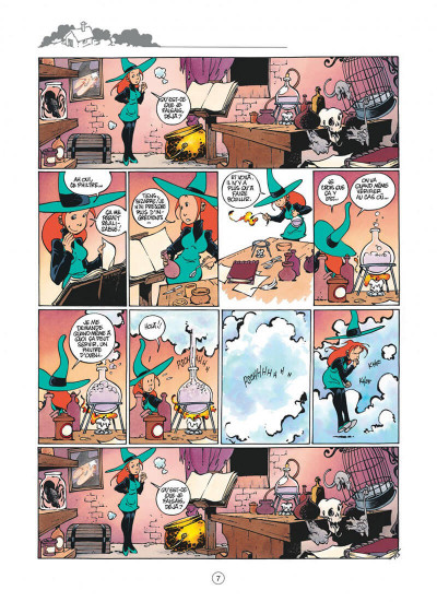 Page 7 Mélusine tome 5 - philtres d'amour (nouvelle édition)