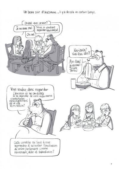 Page 7 Le merveilleux spectacle de la télé-réalité tome 1