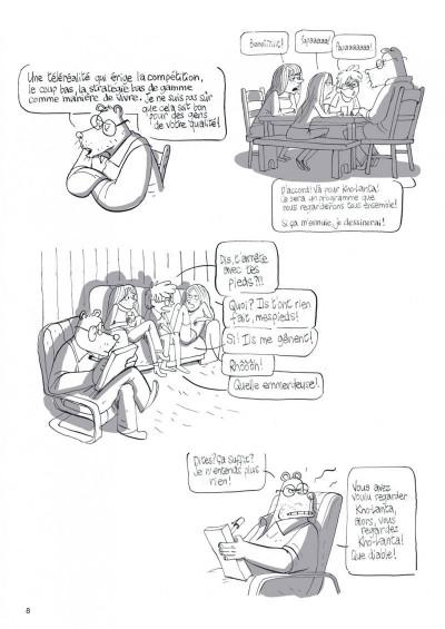 Page 8 Le merveilleux spectacle de la télé-réalité tome 1