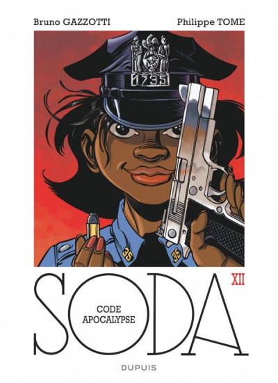 Couverture Soda tome 12 - code apocalypse - édition 2014