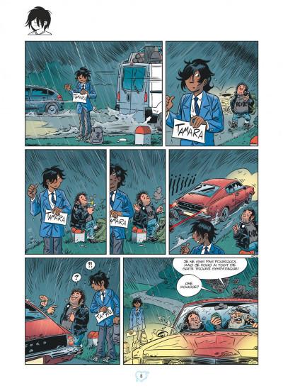 Page 8 Tamara tome 13 - entre les deux, mon coeur balance