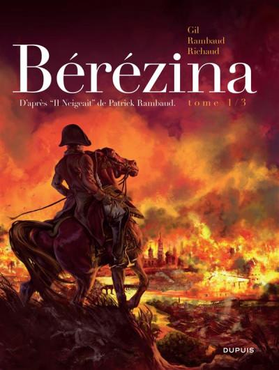 Couverture Bérézina tome 1