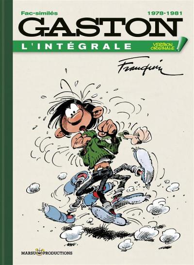 Couverture Gaston - intégrale version originale tome 20 - 1978-1981