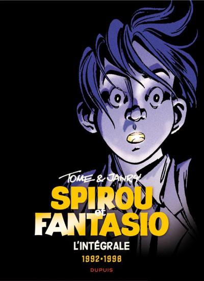 Couverture Spirou et Fantasio intégrale tome 16