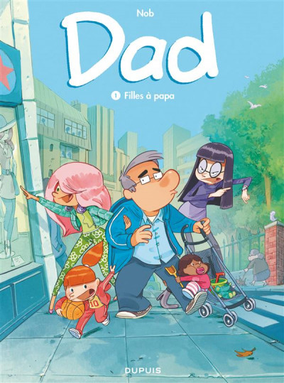 Couverture Dad tome 1 - filles à papa